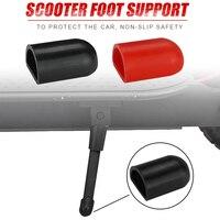 Funda de soporte para pies de patinete eléctrico, Gel de sílice antideslizante, accesorios de textura sólida para ciclismo M365 ES2 Xiaomi Ninebot, 2 uds.