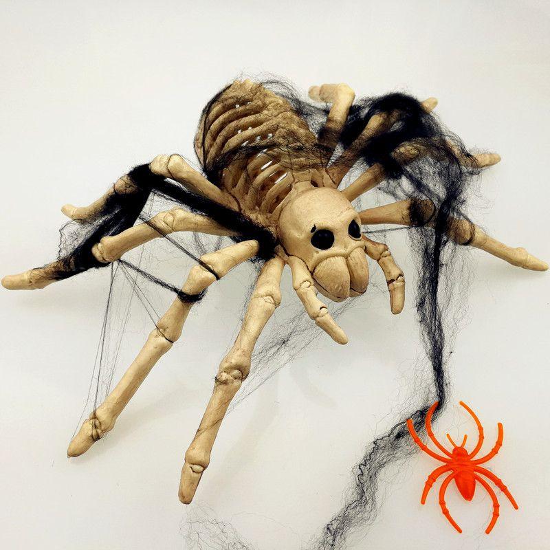 Halloween Animal Skeleton Model Bat/Spider/Scorpion/Lizard Bones Halloween Party DIY Decoration For Home Gift