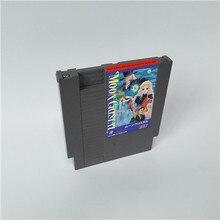 문 크리스탈 72 핀 8 비트 게임 카트리지