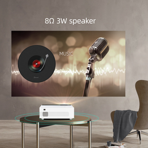 Image 3 - BYINTEK C520 Mini Hd Projector (Optioneel Android 10 Tv Box),150Inch Home Theater, draagbare Led Projector Voor Telefoon 1080P 3D 4K