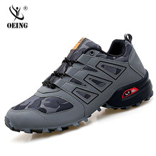 Sapatas luminosas masculinas solomon série à prova de explosão tênis caos tamanho grande sapatos ao ar livre antiderrapante sapatos esportivos casuais 47