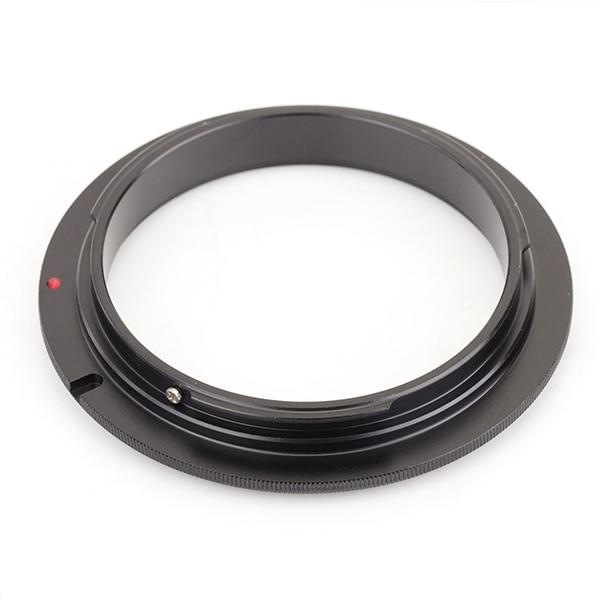 Pixco 52mm 77mmLens מאקרו הפוך מתאם טבעת חליפת עבור Canon EOS 60D 50D 40D 30D 100D 760D 750D 700D 650D 600D 550D 500D 450D