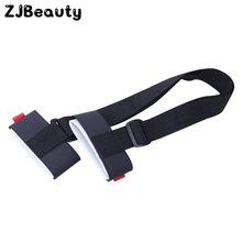 1PCS Solid Colors Snowboard Straps Winter Portable Double Ski Carrier Shoulder Hand Handled Dual Board Fixed Band Accessory#(China)
