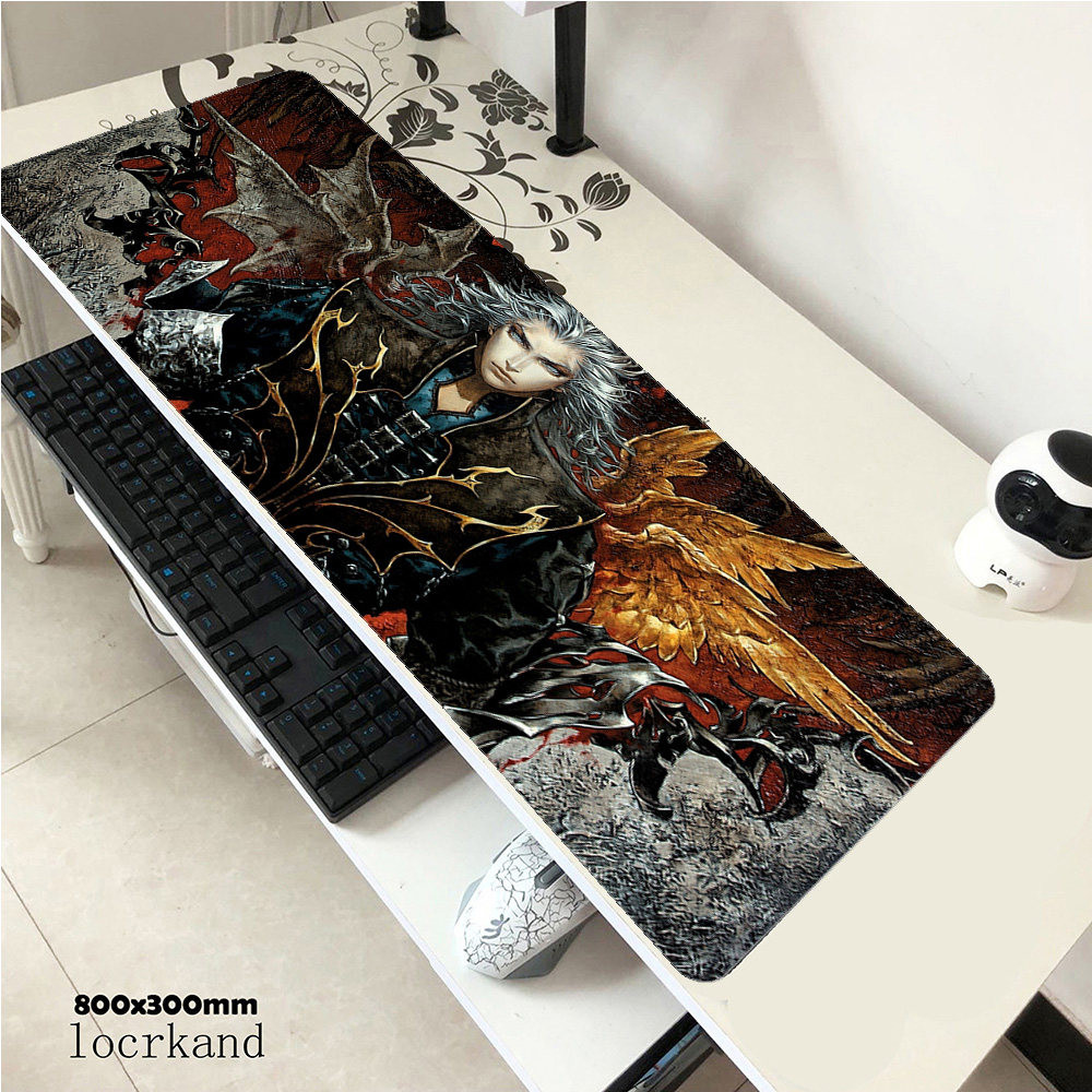 Castlevania mousepad gamer home 800x300x2mm gaming mouse pad notebook accessories Mass pattern laptop padmouse ergonomic mat