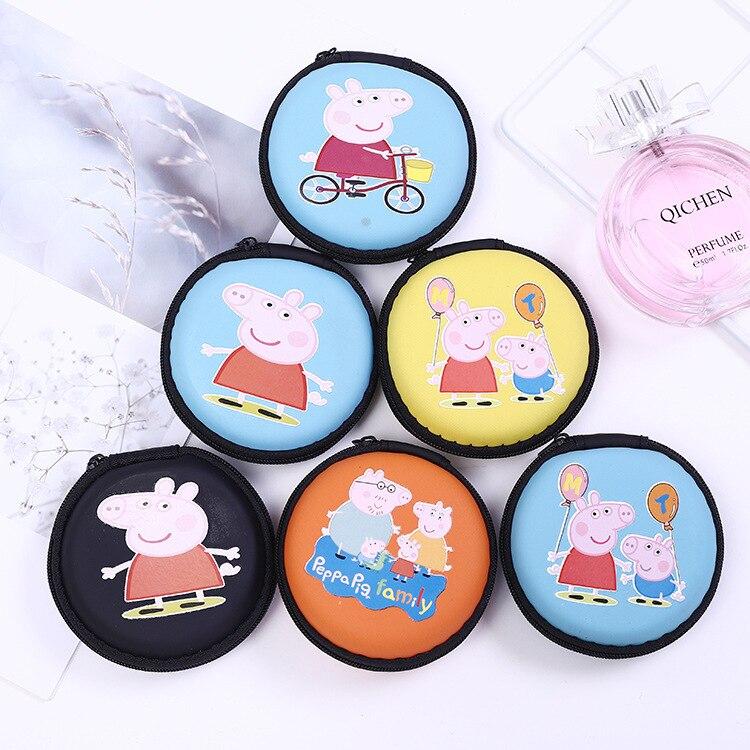 Customizable Cartoon Silica Gel Mini Purse Creative Earphones Key Coin Bag Cute Women's Zero Qian Bag