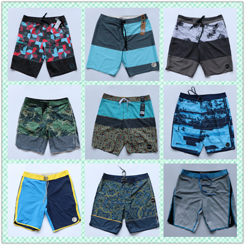 Original Exported Brand Good Quality Men Swimwear Boardshorts Quick Dry Causl Shorts