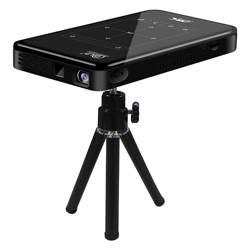 Портативный DLP мини-проектор P09II, Android 9,0, 2,4G, 5G, Wi-Fi, Bluetooth, проектор 4K HD, домашний кинотеатр, светодиодный видеопроектор