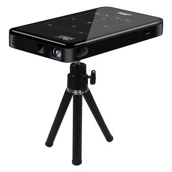 P09II Портативный DLP Мини проектор Android 9,0 2,4G 5G WiFi Bluetooth проектор 4K HDMI IN Beamer домашний кинотеатр светодиодный видеопроектор