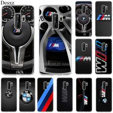 Silicone TPU Case for Samsung Galaxy S7 Edge S8 S9 Plus Note 8 9 New BMW Cover(China)