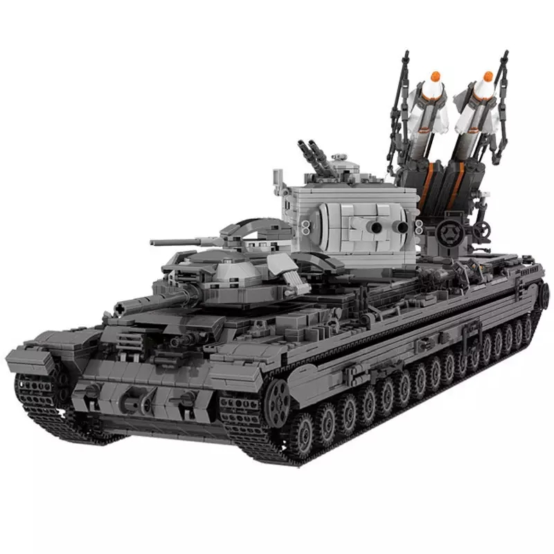 3663Pcs XINGBAO Building Blocks легоe tank 06006 Moc KV-2 Tank tank Children Toy Bricks Tank Model Children Gift Christmas Gift