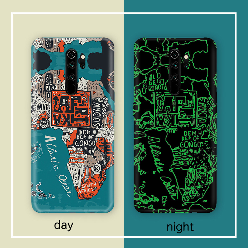 Image 5 - Art relief scrub Japanese Kanagawa wave Hard Shell case cover For XIAOMI redmi note 8 Pro redminote 8 caseFitted Cases   -