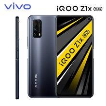 Original vivo iqoo z1x 5g telefone móvel snapdragon 765g celular 5000mah bateria 120hz taxa de atualização 33w carga android smartphone