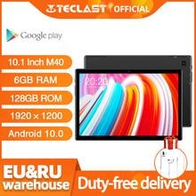 El más nuevo 10,1 pulgadas Tablet Teclast M40 Android 10,0 6GB RAM 128GB ROM Mali-G52 3EE GPU 8MP Cámara Bluetooth 5,0 4G teléfono llamada WiFi