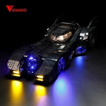 цена на Vonado Led Batman 76139 Movie Batman 1989 Batmobile Figure Model Set Compatible with Building Block Toys Gift Children