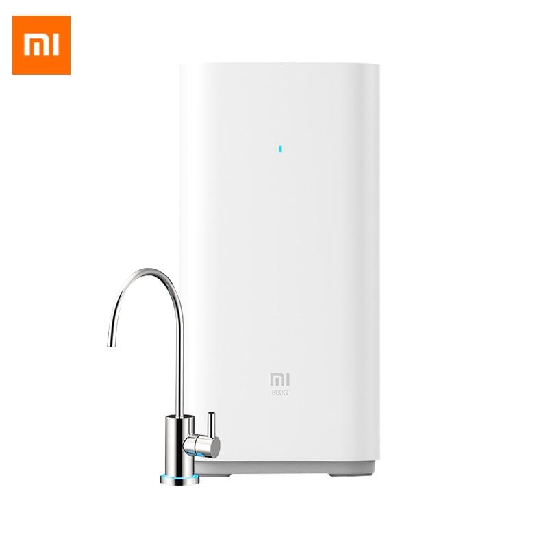 Original Xiao mi mi purificateur d'eau Intelligent 600G sous cuisine osmose inverse eau moniteur Intelligent purificateur d'eau mi jia APP