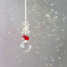 30 мм кристалл с восьмиугольным Бисером Окно Солнце Ловец коллекция бисера Suncatcher домашний декор Радуга производитель, прозрачный кристалл призмы
