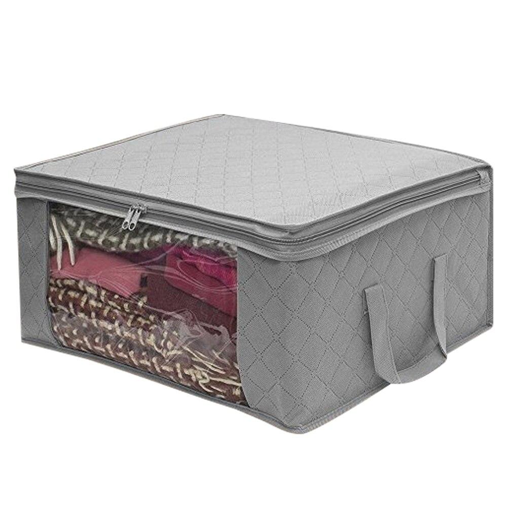 Складной ящик для хранения грязной одежды для сбора чехол из нетканого материала на молнии влагостойкие игрушки стеганая коробка для хранения - Цвет: 2