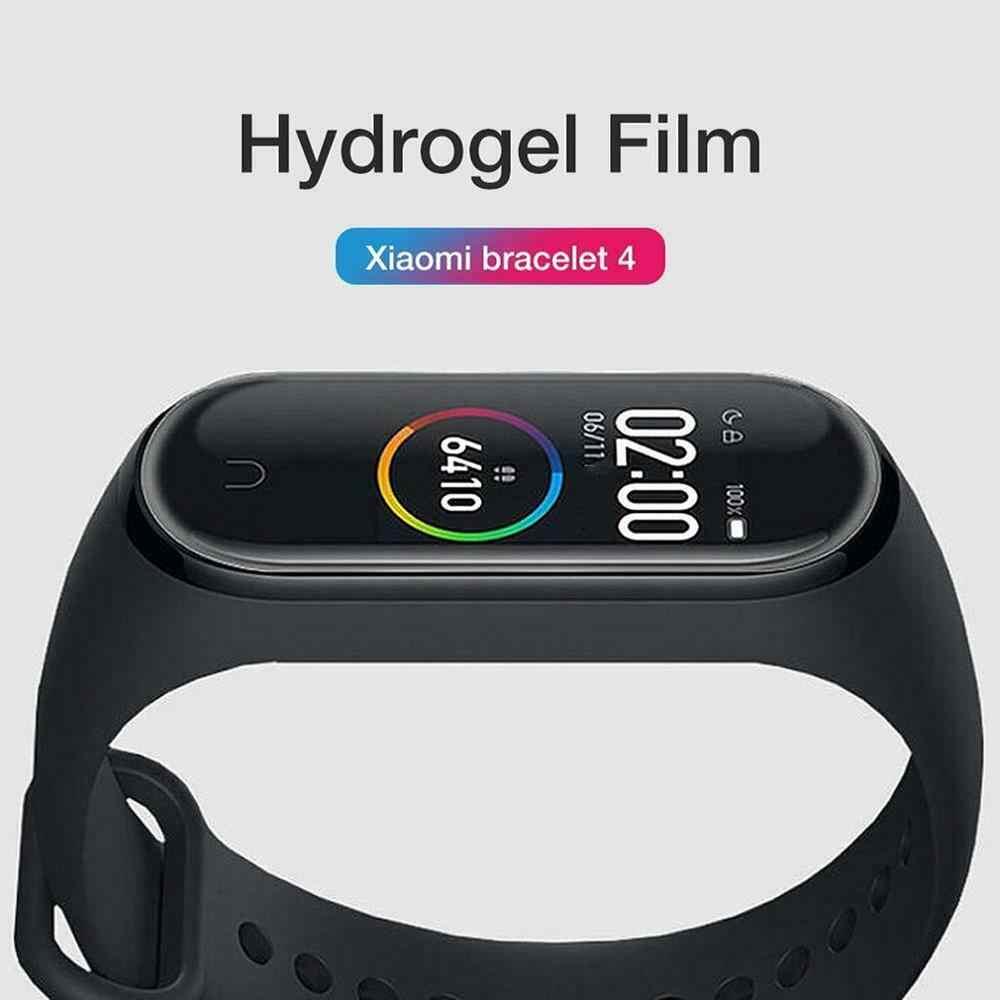 Умный спортивный браслет часы Полный Экран TPU HD мягкая защитная пленка крафтовый картонный пакет для Xiaomi браслет S/s1/2/3/4