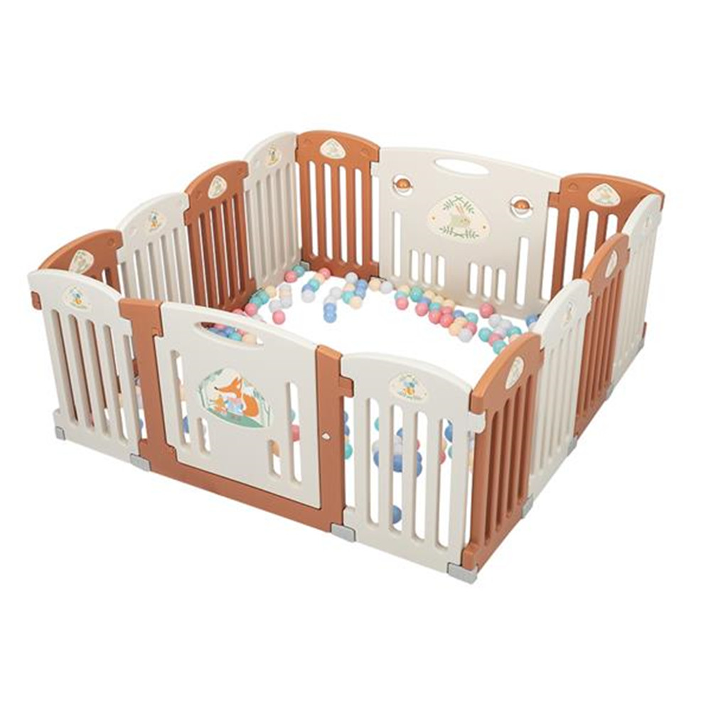 14 Panel Baby Playpen Safety Play Yard Home Indoor Outdoor Children Safety Play Gate Children Toys