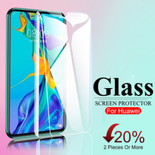 3D Full Screen Cover Protector Glass On For Huawei P30 P40 P20 P10 P9 P8 Lite Protective Tempered Glass For Huawei P20 Pro Film(China)