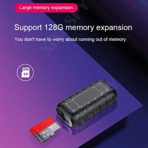 Image 3 - XIXI SPY 500 stunden Voice recorder Diktiergerät pen audio sound mini aktiviert digital professional micro stick