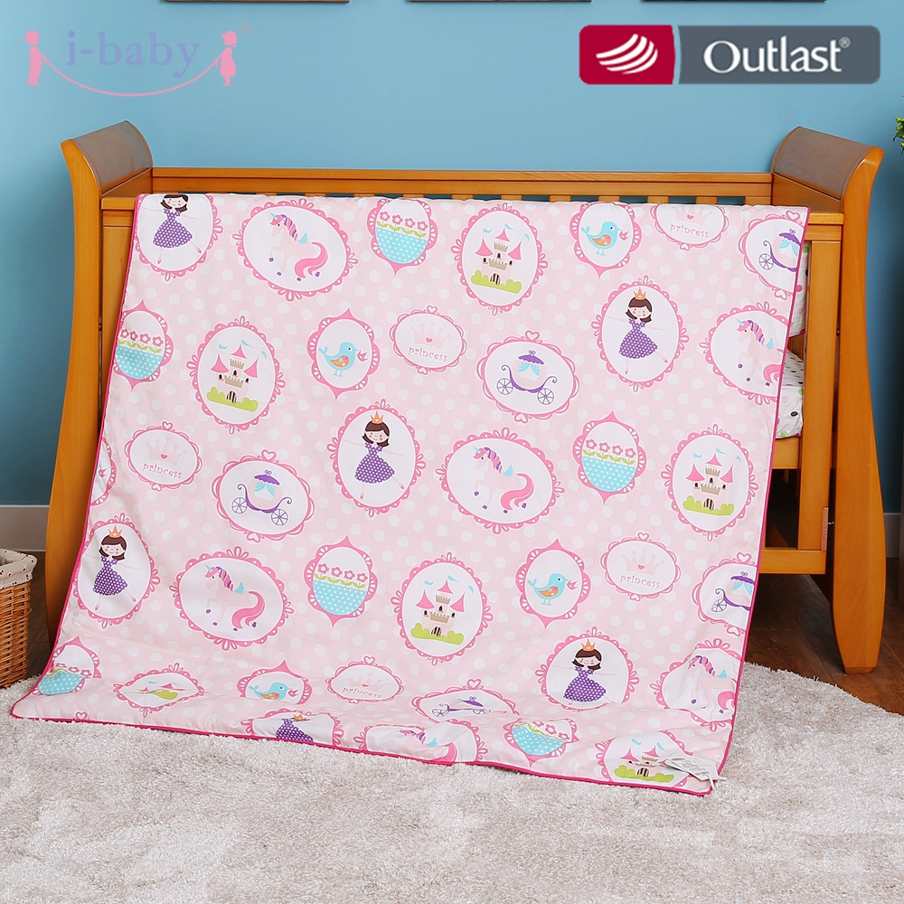 I-baby 4pcs Crib Bedding Set Cot Fitted Sheets ,Duvet Cover,Pillow,Pillow Cover 100% Cotton