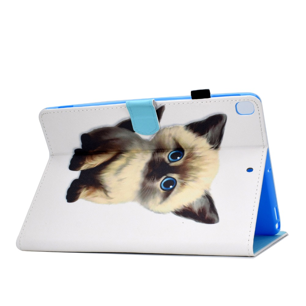 iPad/10.2inch/Model/.. for iPad Case 7th Book-Stand A2197-Cover New