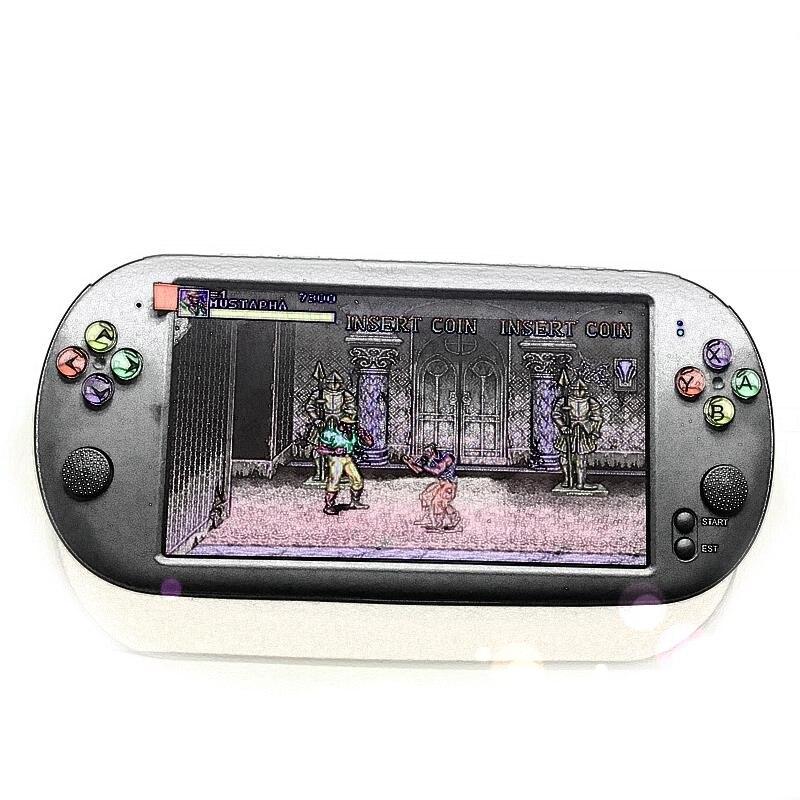Powkiddy 1 шт. 7 дюймов игровой консоли Портативный Поддержка для Neogeo Arcade видеоигры и 1 шт. 5,1 Inch 8G чехол для телефона в виде ретро-игровой консоли HD Экран