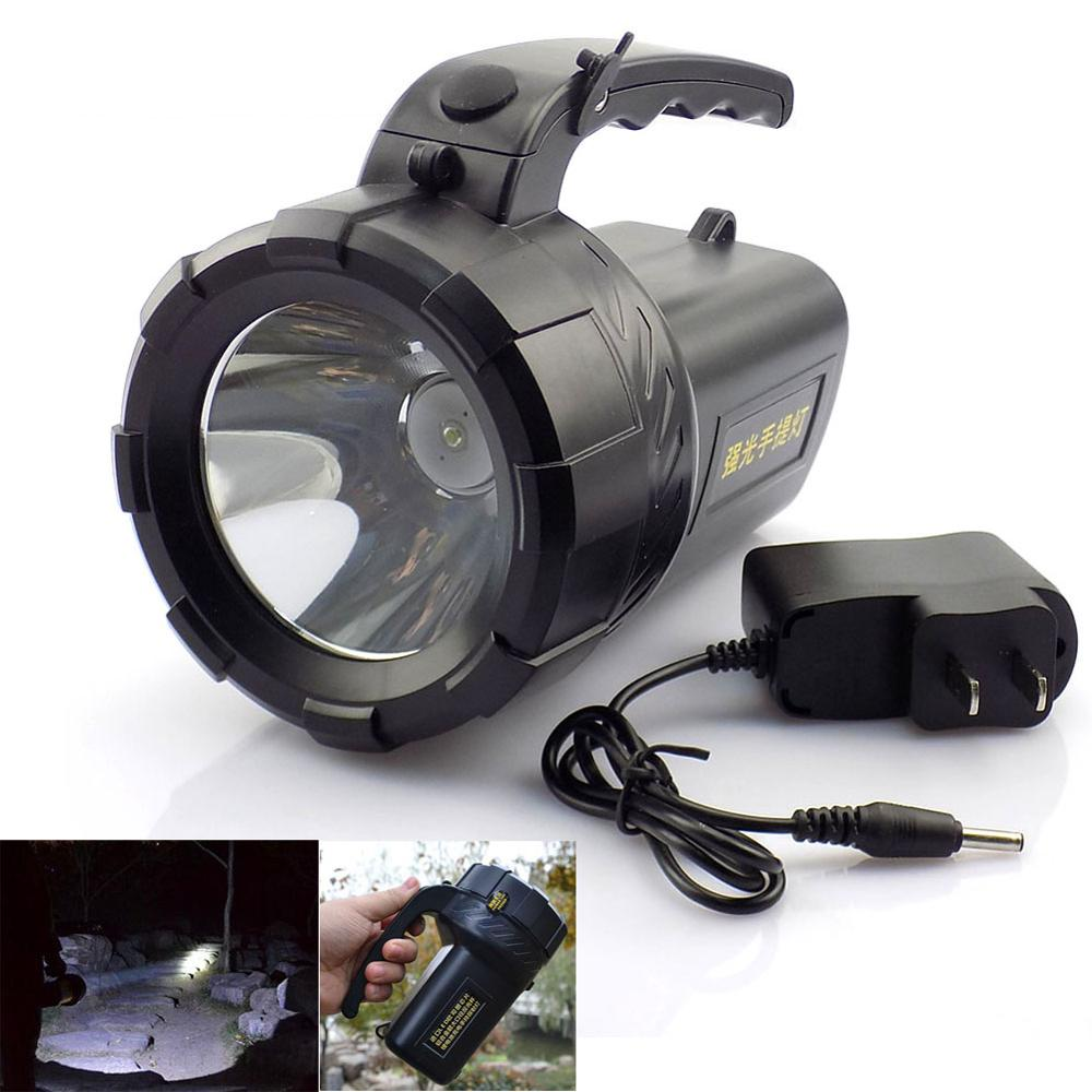 Rechargeable Led Flashlight Lanterna Hand Flash Lamp Lampe Torche Torch Working Searchlight Powerful For Fishing Camping