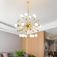 Postmodern Bar Restaurant Glass Pendant Lamp Nordic Creative Personality LED Lights For Living Dining Room Kitchen