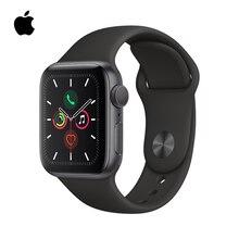 PanTong Apple Watch Series 5 44 мм алюминиевый чехол со спортивным браслетом спортивные Смарт-часы для телефона Apple авторизованные онлайн продажи