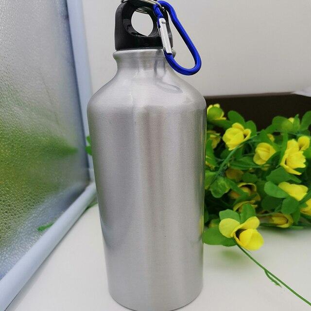 Фото пользовательские металлические бутылки diy спортивные для воды