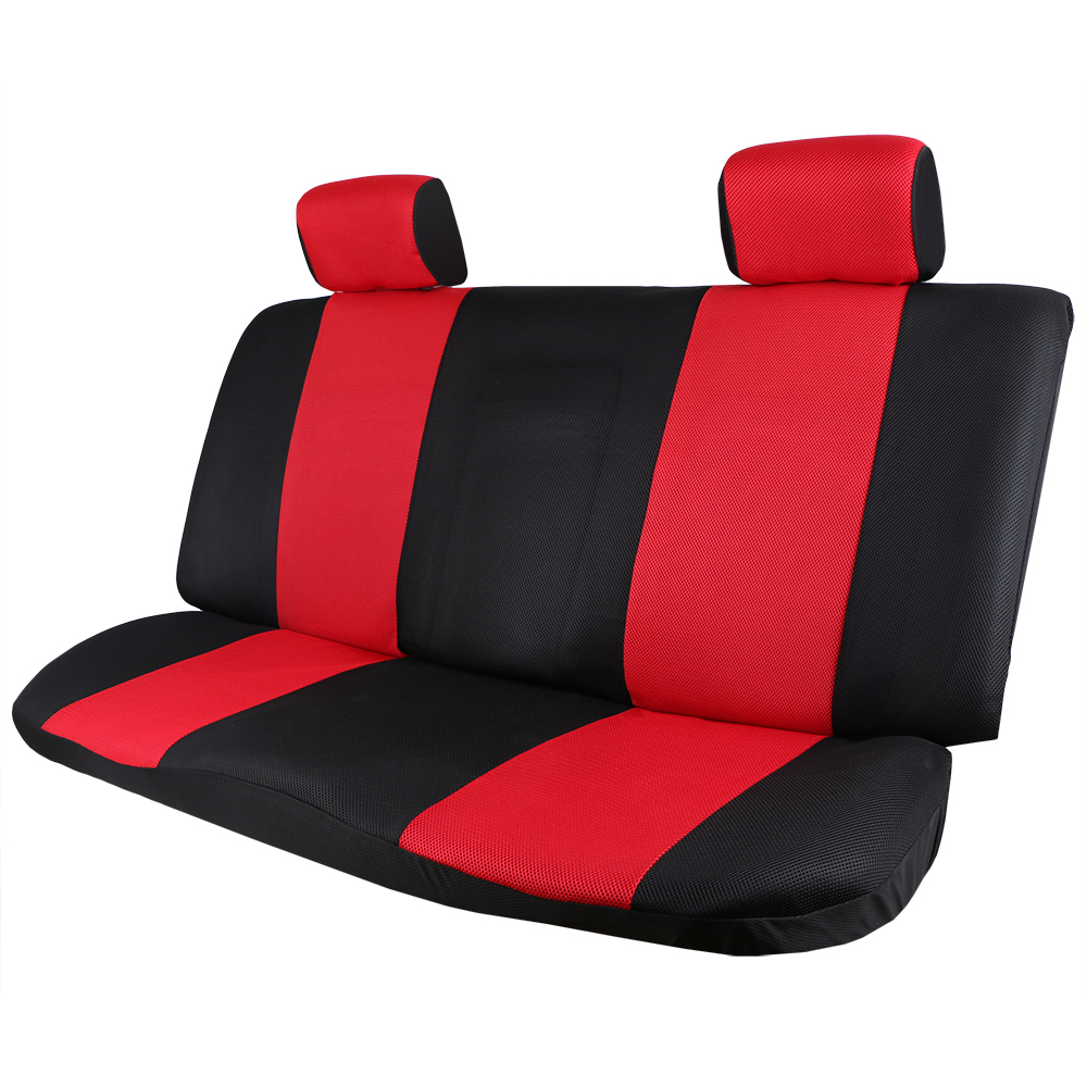 Image 2 - O SHI CAR Breathable Car Seat Cover Sandwich Mesh Material Four Seasons Universal Five seater Auto Covers Pad for Most Cars-in Automobiles Seat Covers from Automobiles & Motorcycles