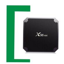 X96mini tv, pudełko tv box z androidem tv, pudełko 1G 8G 2G 16G odtwarzacz multimedialny x96 mini procesor Amlogic S905W inteligentny zestaw pudełkek pod telewizor