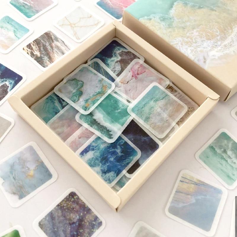 200 folhas/pacote criativo dos desenhos animados bonito adesivo diário decoração scrapbook diy papelaria adesivo para crianças material escolar novo
