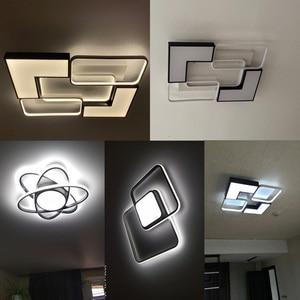 Image 5 - Modern LED Chandeliers For Living room Bedroom Kitchen Luminaries LED Ceiling Mounted Chandelier Lightings chandelier lamp
