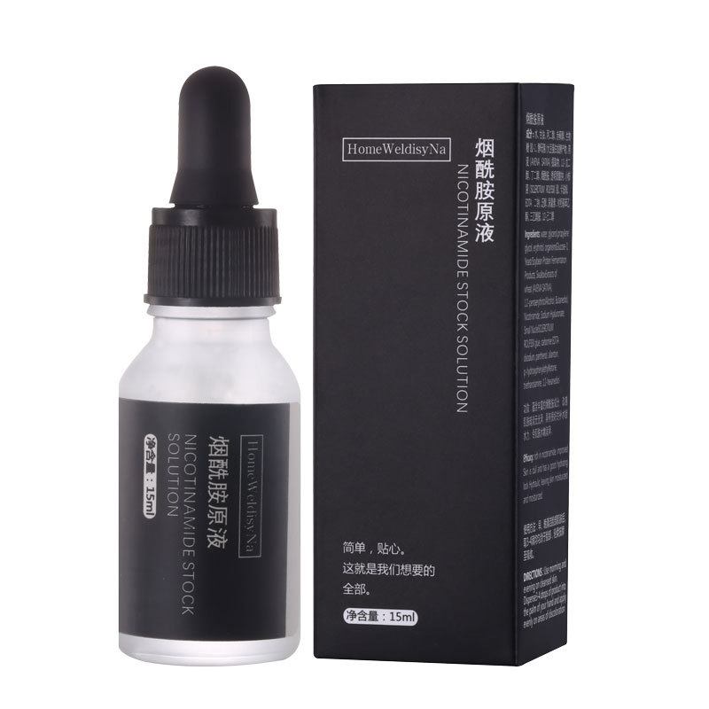 Niacinamide Essence Liquid Brightens Skin Moisturizing Facial Serum Skin Care Product Anti-glycation Repair Skin Face Serum-u