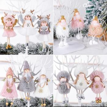 FENGRISE Merry Christmas Decorations For Home 2020 Christmas Angel Doll Xmas Navidad Noel Gifts Christmas Ornament New Year 2021 wooden christmas advent calendar merry christmas decorations for home noel xmas 2021 new year gifts santa claus ornament navidad