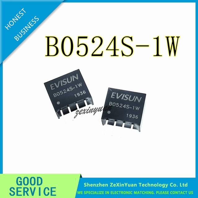 2 PCS 10 PCS B0524S 1W B0524S SIP 4 ใหม่ DCDC แยกโมดูล 5V ถึง 24V