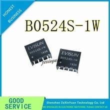 2 adet 10 adet B0524S 1W B0524S SIP 4 yeni DCDC İzolasyon güç modülü 5 V 24 V