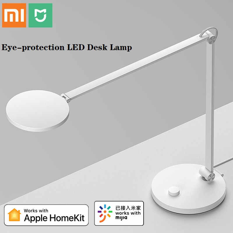 Xiaomi Mijia Portable Eye Perlindungan Lampu LED Meja Pro Bluetooth WIFI Mijia Aplikasi Voice Remote Kontrol Bekerja dengan Apple homekit