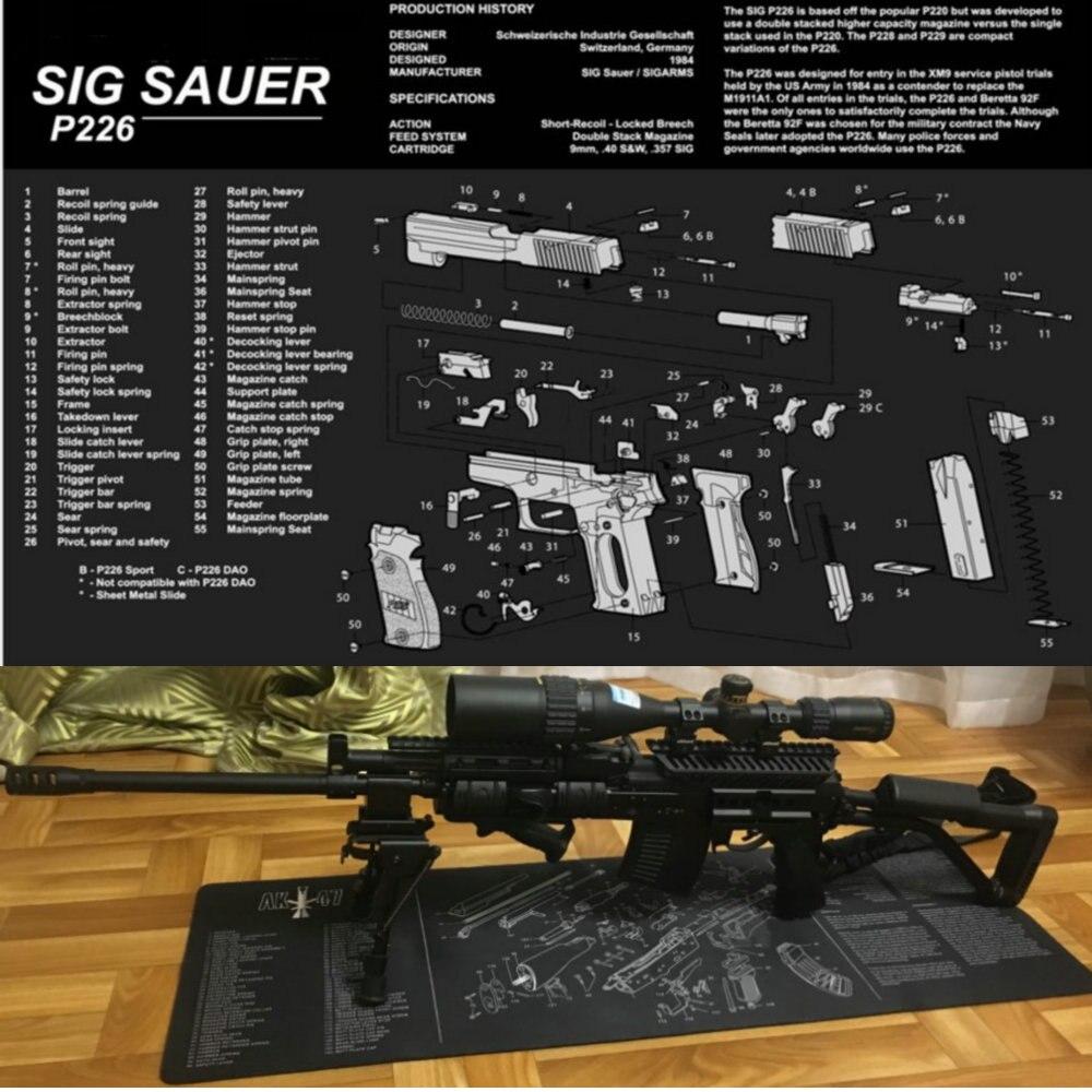 Sig Sauer P226 резиновые перчатки для уборки мат 17