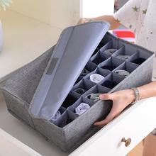 30 Grids Plastic Drawer Organizers Underwear Storage Drawer Organizer