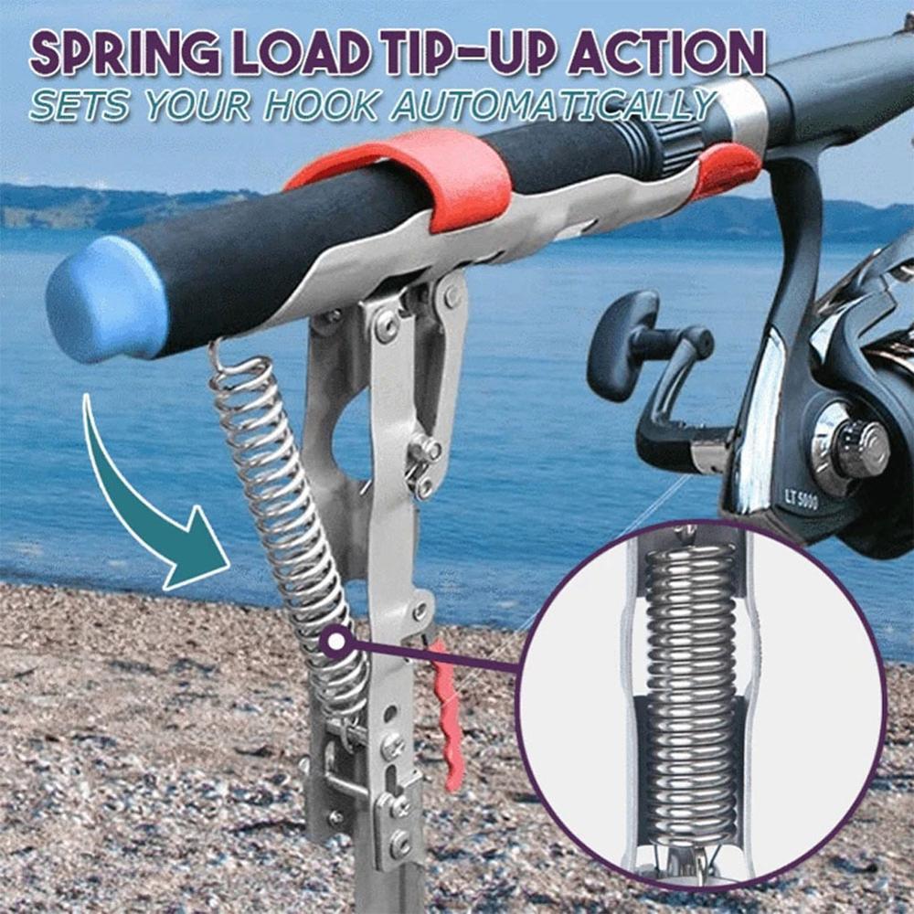 Купить обновленный автоматический кронштейн для рыболовной удочки двойной