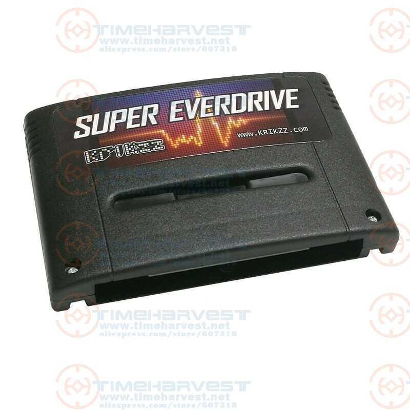 New V2 Ver. Super Everdrive SFC Burning Card With 16G SD 2000 In 1 SNES Game Card Suport 56Mbit Games For Super Nintendo Console