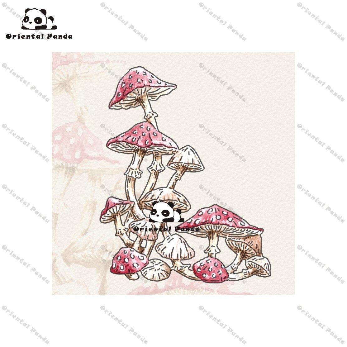 New Dies 2020 Poisonous Fungi Metal Cutting Dies Diy Dies Photo Album  Cutting Dies Scrapbooking Stencil Die Cuts Card Making