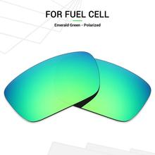 Mryok Anti Scratch POLARIZED Replacement Lenses for Oakley Fuel Cell Sunglasses Emerald Green