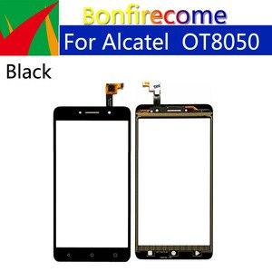 Image 1 - 10Pcs\lot Touchscreen For Alcatel One Touch Pixi 4 OT 8050D 8050  OT8050 Touch Screen Panel Sensor Digitizer Glass Replacement