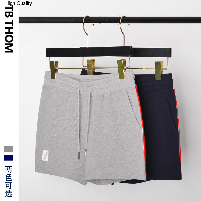 2020 Women's Sport Casual Shorts Solid Summer Shorts Women Cotton Lady Gray Dark Blue