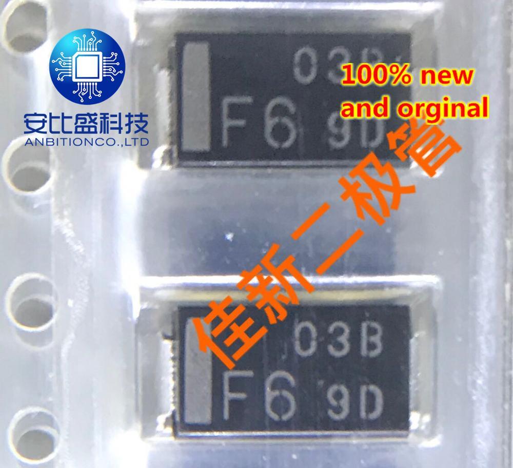 30pcs 100% New And Orginal NSF03B60-TE16L 3A600V Ultra Fast Recovery Diode SMB Long Volume Silkscreen 03BF6 In Stock